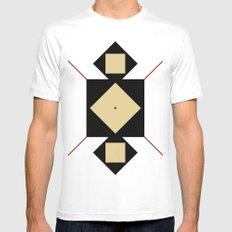 Base Mens Fitted Tee MEDIUM White