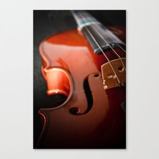 Violin Canvas Print