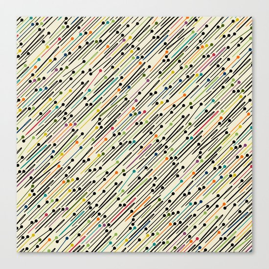pins and needles Canvas Print