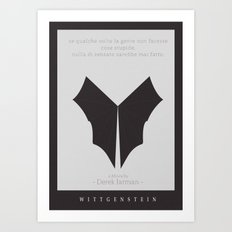 Wittgenstein Movie Poster Art Print