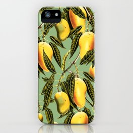 Mango Season #society6 #decor #buyart iPhone Case