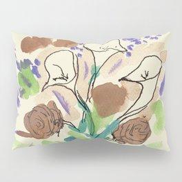 Bouquet of Calla Lillies by John E. Pillow Sham