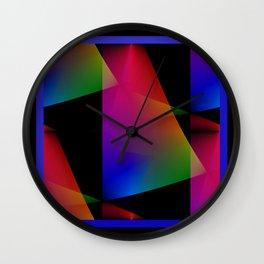Sailing Abstract Wall Clock
