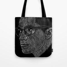 Malcom X Tote Bag
