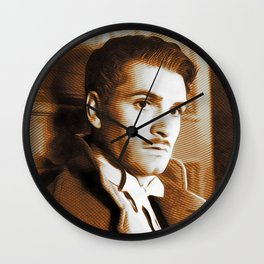 Laurence Olivier, Movie Legend Wall Clock