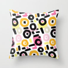 Perception Abstract 002 Throw Pillow