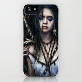 In the Rose Garden iPhone Case