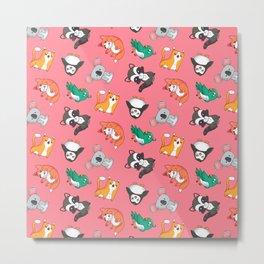 Best animal design pattern illustration Metal Print