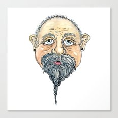 old man 2 Canvas Print
