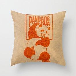 Pandarosa Summer Showcase 2011 Throw Pillow