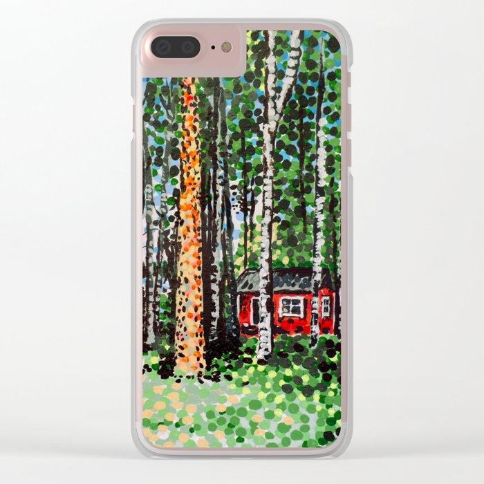 The Escape Hut Clear iPhone Case
