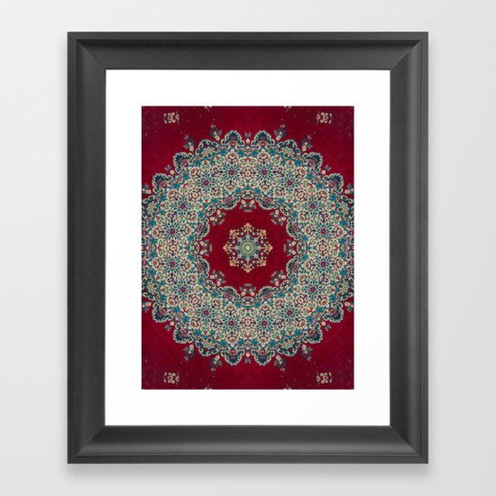 Mandala Nada Brahma  Framed Art Print