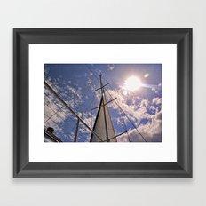 The Mast Framed Art Print