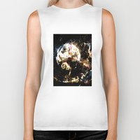 nightmare before christmas Biker Tanks featuring nightmare before christmas by ururuty