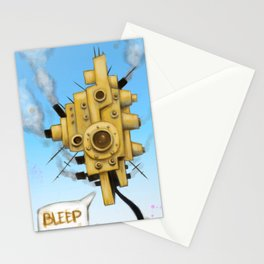 Sky Brain Stationery Cards
