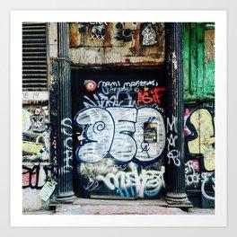 Graffiti NYC Art Print