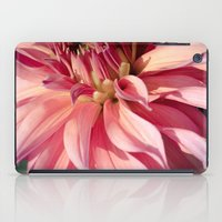 dahlia iPad Cases featuring Dahlia  by A Wandering Soul