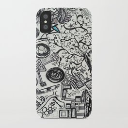 Black/White #2 iPhone Case