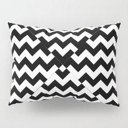 OPTICAL ILLUSIONS (BLACK-WHITE) Pillow Sham