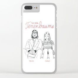 The Royal Tenenbaums (Richie and Margot) Clear iPhone Case