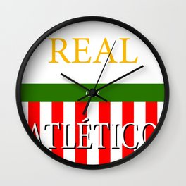 REAL or ATLÉTICO Wall Clock