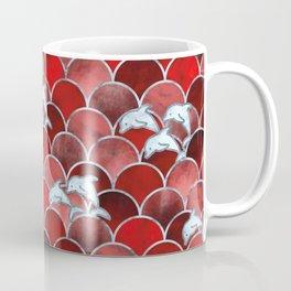 Wave Jumpers (Red) Coffee Mug