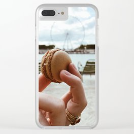 Macarron Clear iPhone Case