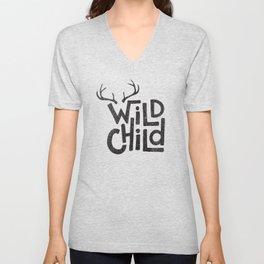 WILD CHILD Unisex V-Neck