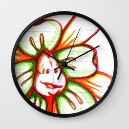 """Storyteller"" Flowerkid Wall Clock"