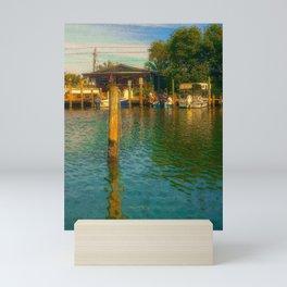 Florida Watering Hole Mini Art Print
