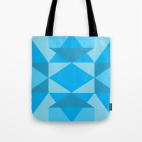 jack frost Tote Bags featuring Jack Frost by Charlotte Miller