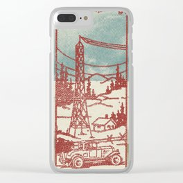 Rainfall of the World Clear iPhone Case