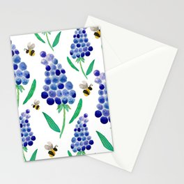 Muscari & Bees Stationery Cards