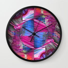 mixed all into one III Wall Clock