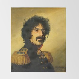 Frank Zappa - replaceface Throw Blanket