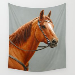 Red Dun Western Quarter Horse Wall Tapestry
