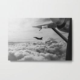 Cloudsurfing Metal Print