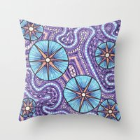 celestial Throw Pillows featuring Celestial by ErinNNelson