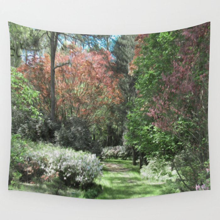 Getting Lost in a Day Dream Wall Tapestry