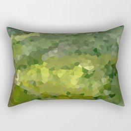 Mountain Forest Green Life Adventure Rectangular Pillow