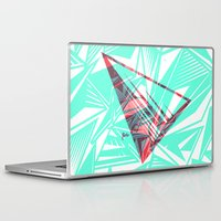 pyramid Laptop & iPad Skins featuring Pyramid by Flester