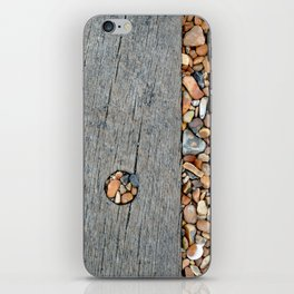 Beach Pebble Abstract iPhone Skin