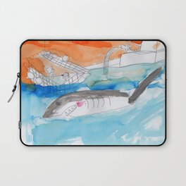 Shark Watch Laptop Sleeve