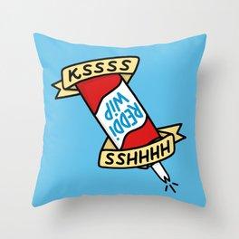 Reddi Wip Throw Pillow