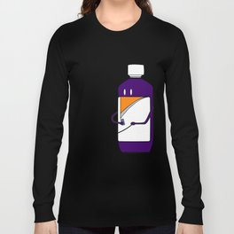 Codeine Bottle Walking the Dog Long Sleeve T-shirt