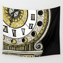 Grandfather Clock Wall Tapestry