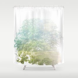 Where the sea sings to the trees - 9 Shower Curtain