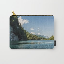Koenigssee lake Bavaria Mountains Alps on #Society6 Carry-All Pouch