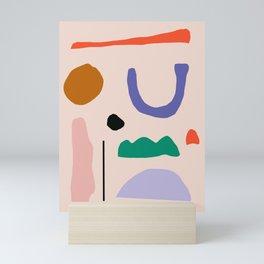 Shapes Mini Art Print