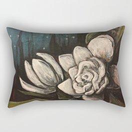 Night Bloom Rectangular Pillow